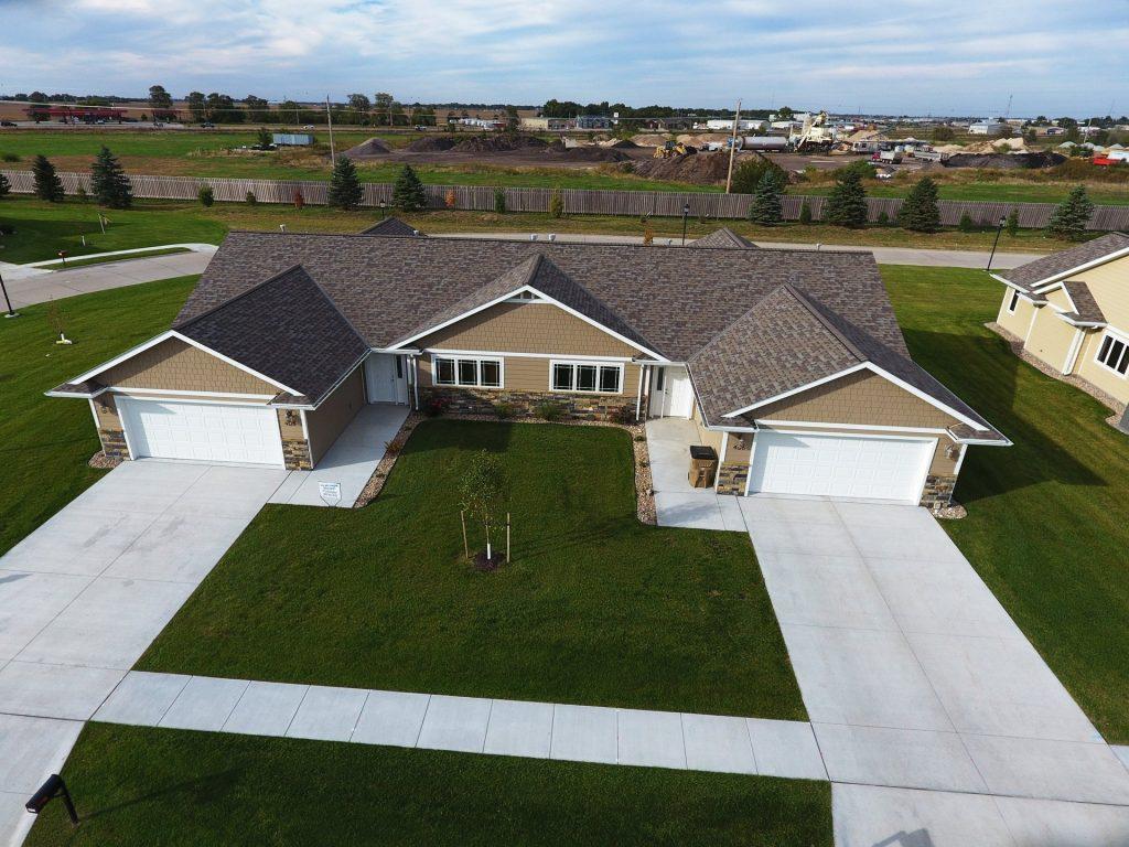 Aerial View of Duplex