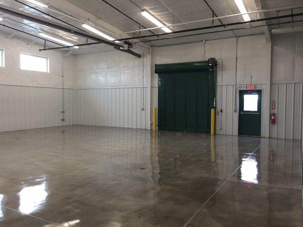 Inside Empty Industrial Building